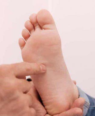 Podoskopowe badania stóp